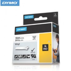 Vinyl 19mm Alb - DYMO 18445