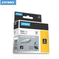 18051 DYMO Tub Termo 6mm Alb