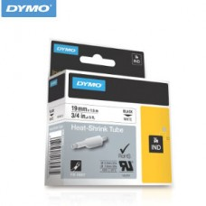 18057 DYMO Tub Termo 19mm ALB